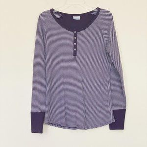 COLUMBIA On The Gorge Thermal Henley Top L